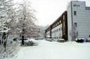 TF - Gebäude A und Turm im Winter