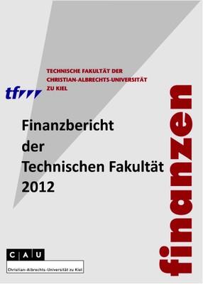 Finanzberichte Titelblatt