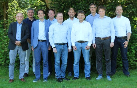 Professors of the Institute of Electrical Engineering and Information Technology