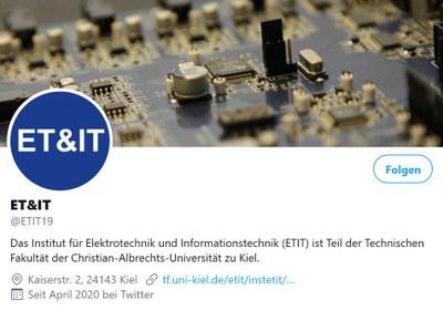 ET&IT auf Twitter