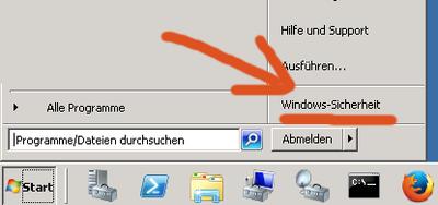 Passwort ändern am Remote-Desktop (Windows Sicherheit)