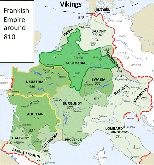 The Frankish Empire And Its Swords on